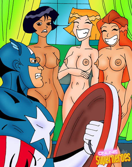 Captain America fucks Totally Spice Girls!
