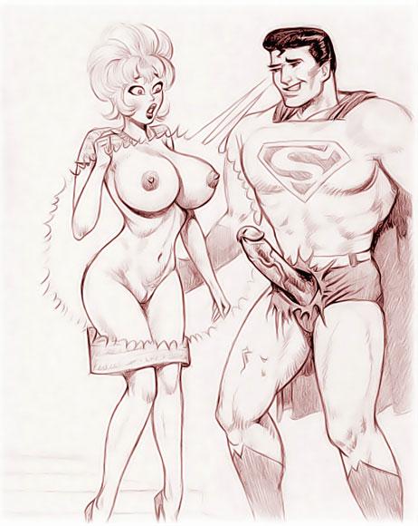 Superman fucks Annie Fannie