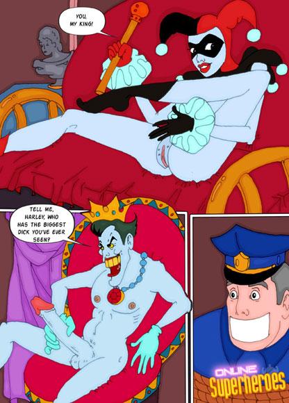 Batman xxx comic