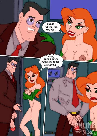 Superman fucks Ivy