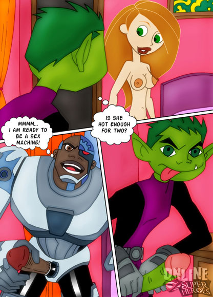 Teen Titans bang Kim Possible