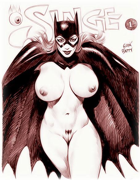 Batgirl's hot body