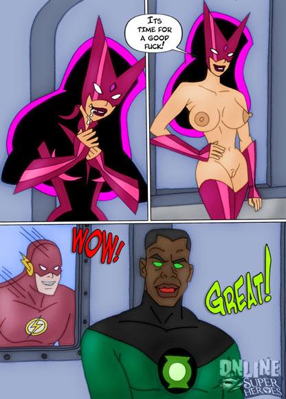 Flash fucks Wonder Woman