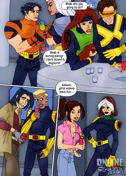 X-Men xxx comics