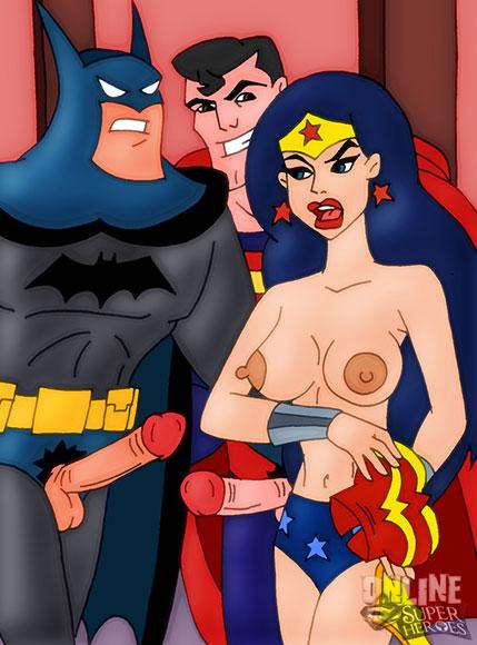 Wonder Woman gives head