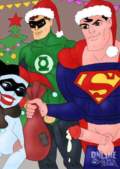 Gotham's heroes fuck for the Holidays