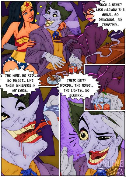 Joker becomes a sex slave