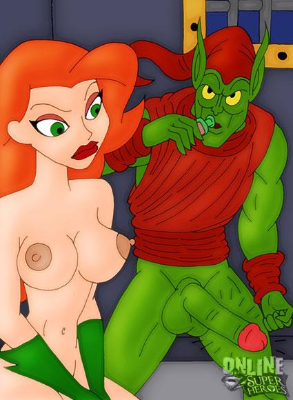 Green Goblin fucking