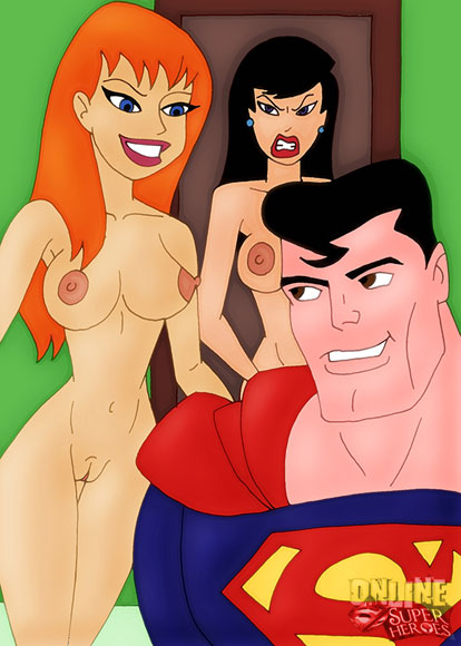 Superman in a threesome