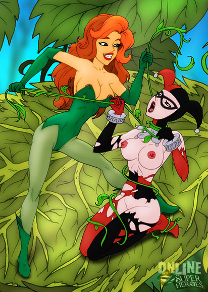 Ivy and Harley have lesbian sex