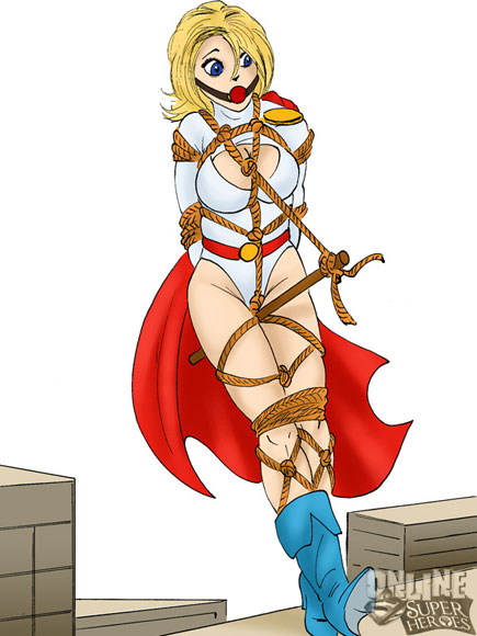 Wonder woman power girl lesbian pics superheroes luscious