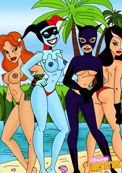 lovely ladies of Gotham