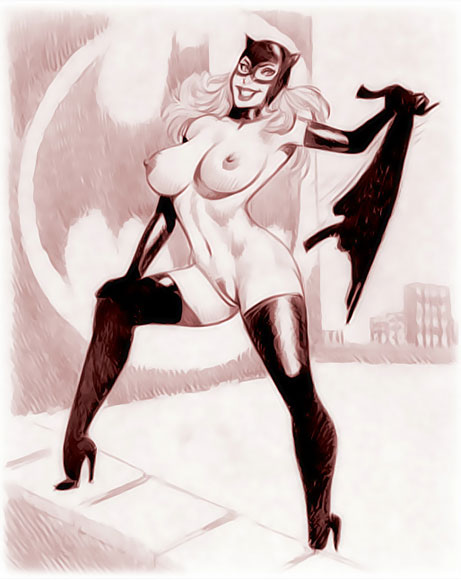 71 catwoman nude Versions Of Catwoman Playing In The Nude Superheroes Cartoon Porn. 461x580